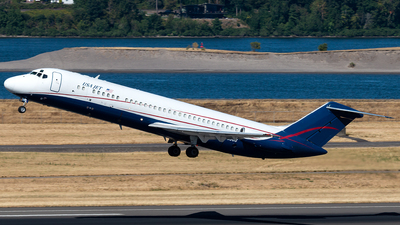 A picture of N205US - McDonnell Douglas DC932CF - USA Jet Airlines - © Russell Hill
