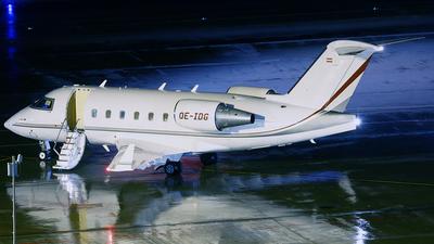 OE-IDG - Bombardier CL-600-2B16 Challenger 604 - Global Jet Austria