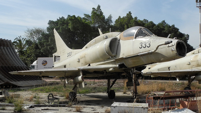 333 - McDonnell Douglas A-4N Ayit - Israel Aerospace Industries (IAI)