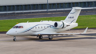 2-BLUE - Bombardier CL-600-2B16 Challenger 601-3A - Private