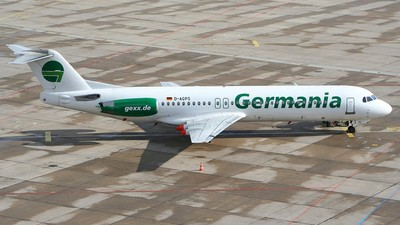 D-AGPS - Fokker 100 - Germania