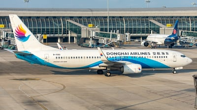B-1590 - Boeing 737-83Z - Donghai Airlines