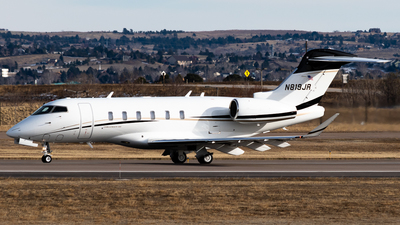N819JR - Bombardier BD-100-1A10 Challenger 350 - Private