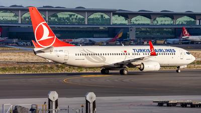 A picture of TCJVU - Boeing 7378F2 - Turkish Airlines - © Deniz Can Biroglu