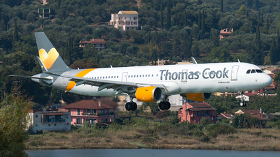 G-TCDD - Airbus A321-211 - Thomas Cook Airlines