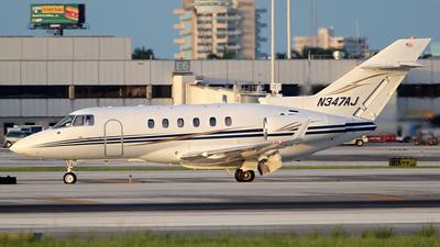 A picture of N347AJ - Hawker 800XP - [258547] - © André Du-pont  (Mexico Air Spotters)