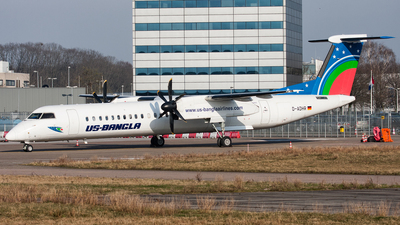 D-ADHR - Bombardier Dash 8-Q402 - US-Bangla Airlines