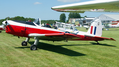 G-DHCC - De Havilland Canada DHC-1 Chipmunk T.10 - Private