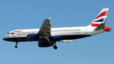 G-MIDX - Airbus A320-232 - British Airways