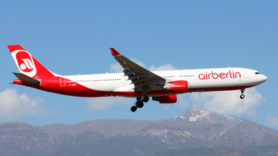 D-AERS - Airbus A330-322 - Air Berlin