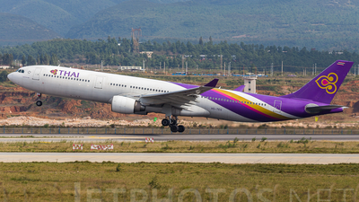 HS-TEG - Airbus A330-321 - Thai Airways International