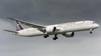 A picture of HZAR25 - Boeing 78710 Dreamliner - Saudia - © Nek Aberia-Philippine Aviators