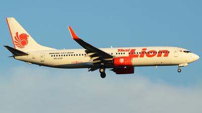 HS-LUV - Boeing 737-8GP - Thai Lion Air