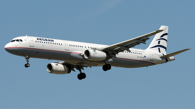 A picture of SXDVZ - Airbus A321231 - Aegean Airlines - © Claus Seifert