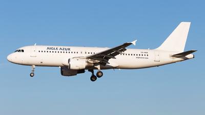 SX-ABX - Airbus A320-211 - Aigle Azur