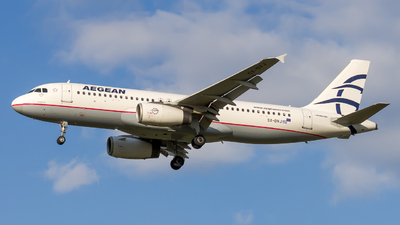 A picture of SXDVJ - Airbus A320232 - Aegean Airlines - © Peter Tolnai