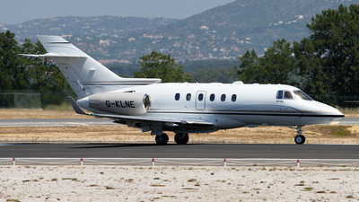 G-KLNE - Raytheon Hawker 900XP - Saxon Air