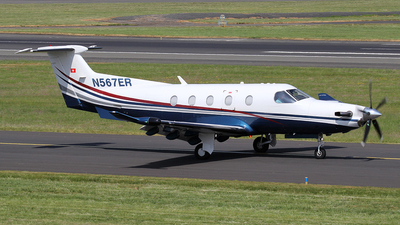 A picture of N567ER - Pilatus PC12/47E - [1139] - © Ian Howat