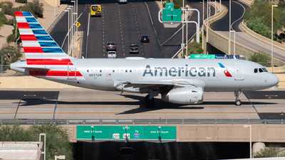 A picture of N837AW - Airbus A319132 - American Airlines - © Drake D Kao