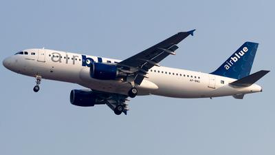 A picture of APBNU - Airbus A320214 - AirBlue - © Baqir Kazmi