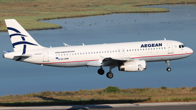 A picture of SXDVM - Airbus A320232 - Aegean Airlines - © Vince Claus