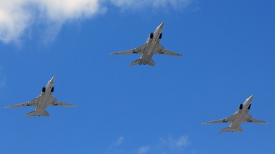 RF-94144 - Tupolev Tu-22M3 Backfire - Russia - Air Force