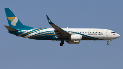 A picture of A4OBAA - Boeing 73781M - Oman Air - © Timo Frieg