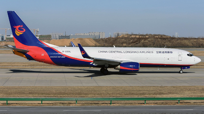 B-220L - Boeing 737-86N(BCF) - China Central Longhao Airlines