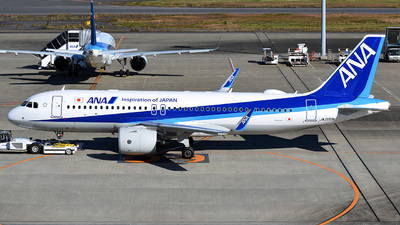 JA222A - Airbus A320-271N - All Nippon Airways (ANA)