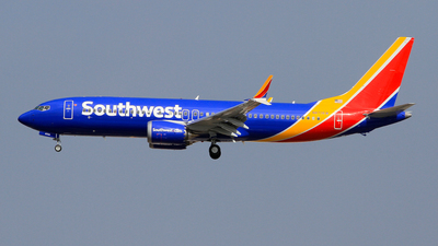N8706W - Boeing 737-8 MAX - Southwest Airlines