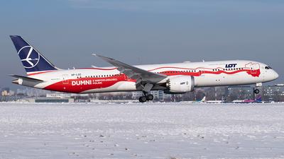 A picture of SPLSC - Boeing 7879 Dreamliner - LOT - © KubaNagalski