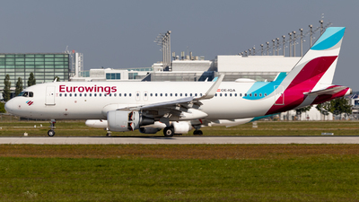 OE-IQA - Airbus A320-214 - Eurowings Europe