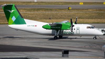A picture of LNFVB - De Havilland Canada Dash 8100 - Wideroe - © R.Rimestad