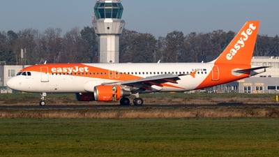 A picture of GEZTG - Airbus A320214 - easyJet - © Jesse Vervoort