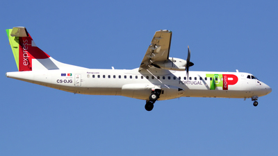 CS-DJG - ATR 72-212A(600) - TAP Express