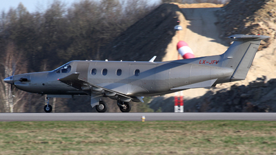 LX-JFV - Pilatus PC-12/47E - Jetfly Aviation