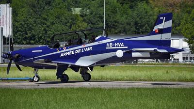 HB-HVA - Pilatus PC-21 - Pilatus Aircraft