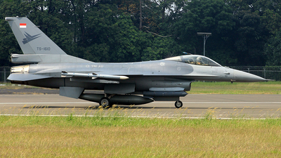 TS-1610 - General Dynamics F-16A Fighting Falcon - Indonesia - Air Force