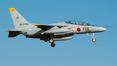 76-5756 - Kawasaki T-4 - Japan - Air Self Defence Force (JASDF)