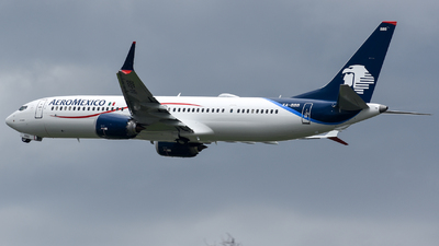 XA-BBB - Boeing 737-9 MAX - Aeroméxico