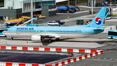 A picture of HL7708 - Boeing 7379B5 - Korean Air - © Lee Jihun