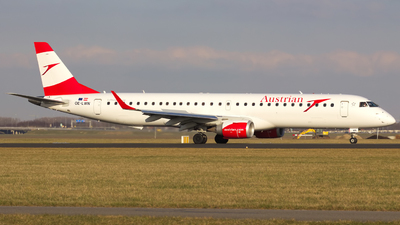 OE-LWN - Embraer 190-200LR - Austrian Airlines