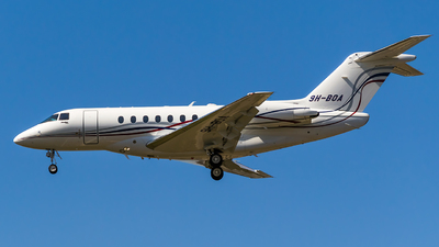 9H-BOA - Hawker Beechcraft 4000 - Private