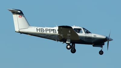 HB-PPB - Piper PA-28RT-201T Turbo Arrow IV - Private