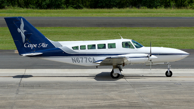 A picture of N677CA - Cessna 402C - [402C0631] - © Carlos Barcelo