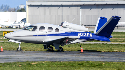 A picture of N33PK - Cirrus SF50 Vision - [0206] - © Chung Kwok