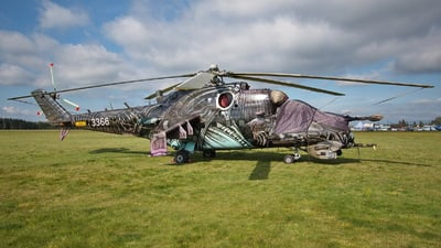 3366 - Mil Mi-24V Hind E - Czech Republic - Air Force