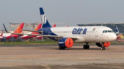 A picture of VTWJG - Airbus A320271N - Go Air - © Shrey Chopra