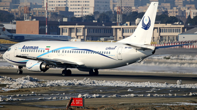 EP-NSN - Boeing 737-4H6 - Iran Aseman Airlines