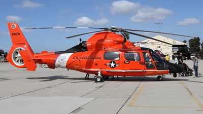 6570 - Aérospatiale MH-65C Dauphin - United States - US Coast Guard (USCG)